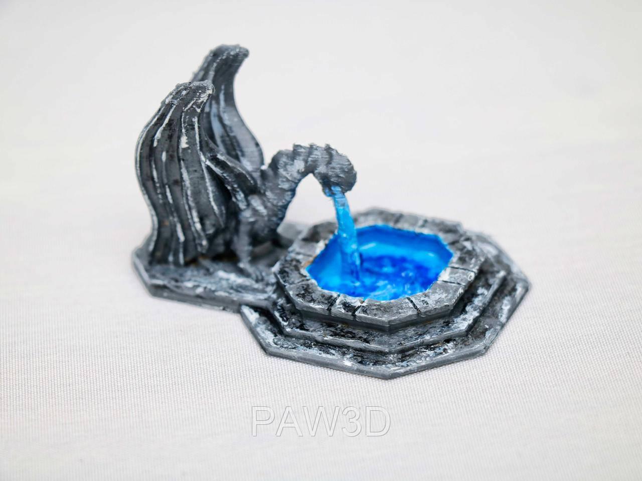 Дракон-фонтан