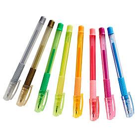 IKEA MALA (202.661.74) Гелеві ручки, різні кольори, різні кольори
