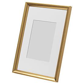 IKEA SILVERHOJDEN (403.703.96) Рамка для фото золотий колір