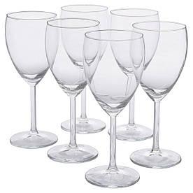IKEA SVALKA (000.151.34) Келих для білого вина, безбарвне скло