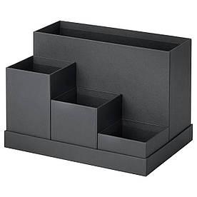IKEA TJENA (803.954.89) Настільний організатор, чорний