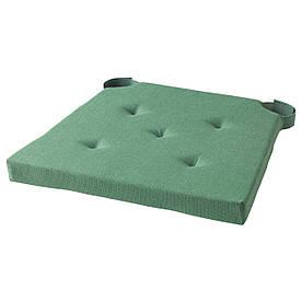 IKEA JUSTINA (603.044.28) Подушка кресла, зеленая