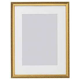 IKEA SILVERHOJDEN (503.704.09) Рамка для фото золотий колір