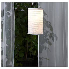 IKEA SOLVINDEN (103.831.78) Подвесная лампа, солнечная энергия, в виде белой трубки