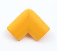 Защита на углы мягкая - большая. Оранжевый., фото 1