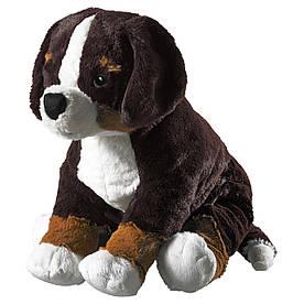 IKEA HOPPIG (902.604.42) Плюшева собака, бельгійська собака