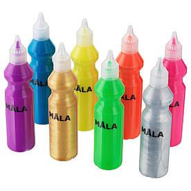 IKEA MALA (702.662.99) Флуоресцентна фарба, різні кольори, різні кольори