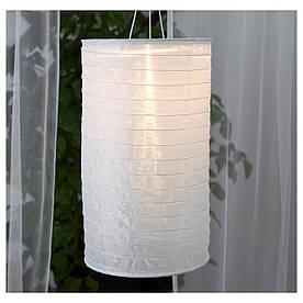 IKEA SOLVINDEN (803.831.70) Подвесная лампа, солнечная энергия, в виде белой трубки
