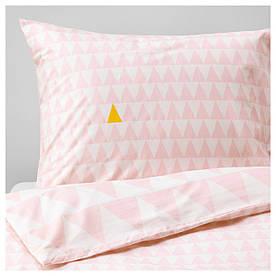 IKEA STILLSAMT (203.586.68) Комплект постельного белья, светло-розовый
