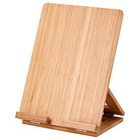 IKEA GRIMAR (302.920.83) Тримач планшета, бамбук