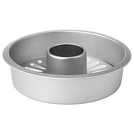 IKEA VARDAGEN (802.569.83) Форма д/выпекания со съемным дном, серебро