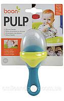 Ниблер силиконовый Boon Pulp, зелёный/голубой. Оригинал.