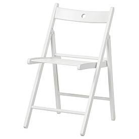 IKEA TERJE (802.224.41) Складаний стілець, білий