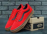 Мужские кеды Vans Old Skool Pro Red