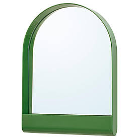 IKEA YPPERLIG (903.461.01) Зеркало, зеленый