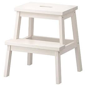 IKEA BEKVAM (401.788.88) Табурет-лестница, белый