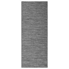IKEA HODDE (002.987.98) Ковер wewn/внешний, серый внутри/снаружи, черный