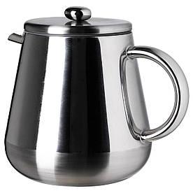 IKEA ANRIK (501.128.68) Кава-прес/заварювальний чайник, нержавіюча сталь