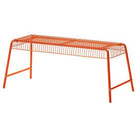 IKEA VASTERON (403.079.51)Скамья внутри/снаружи, оранжевый