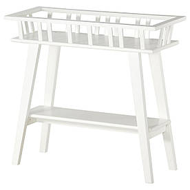 IKEA LANTLIV (701.861.13) Підставка для горщика, біла