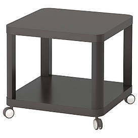 IKEA TINGBY (003.494.44) Столна колесах серый