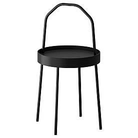 IKEA BURVIK (703.403.84) Журнальний столик, чорний