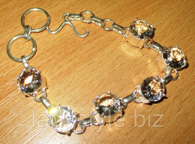 купить подарок украшения горный хрусталь браслет зодиак камни