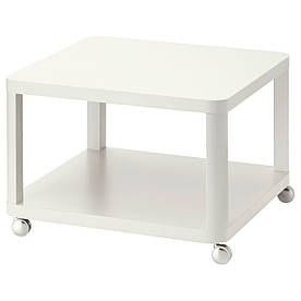IKEA TINGBY (202.959.25) Столна колесах белый