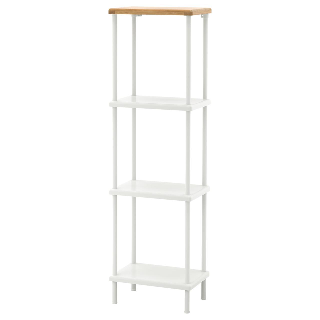 IKEA DYNAN (991.833.93) Шкаф, белый, бамбуковый узор