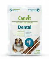 Canvit Dental лакомства для поддержания здоровья зубов у собак, 200 г
