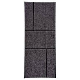 IKEA KOGE (202.966.04) Придверні килимок, сірий, чорний