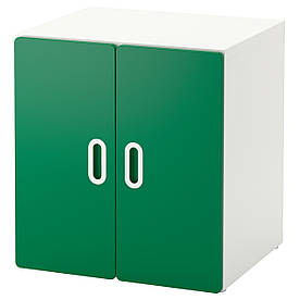 IKEA STUVA / FRITIDS (392.794.97) Шафа, білий, зелений