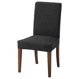 IKEA HENRIKSDAL (692.203.54) Стул коричневый, Dansbo темно-серый