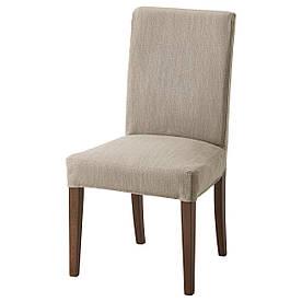 IKEA HENRIKSDAL (292.207.80) Стілець коричневий, Dansbo темно-сірий