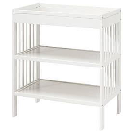 IKEA GULLIVER (203.070.37) Стол , белый