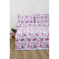 Постельное белье Lotus Ranforce - Dora розовый двуспальное