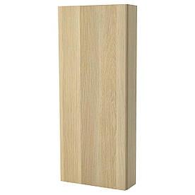 IKEA GODMORGON (202.261.83) Настінний шафа з дверима, білий фарбований дуб, фарбований дуб, білий