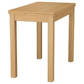 IKEA BJURSTA (501.168.47) Розсувний стіл, ok deb