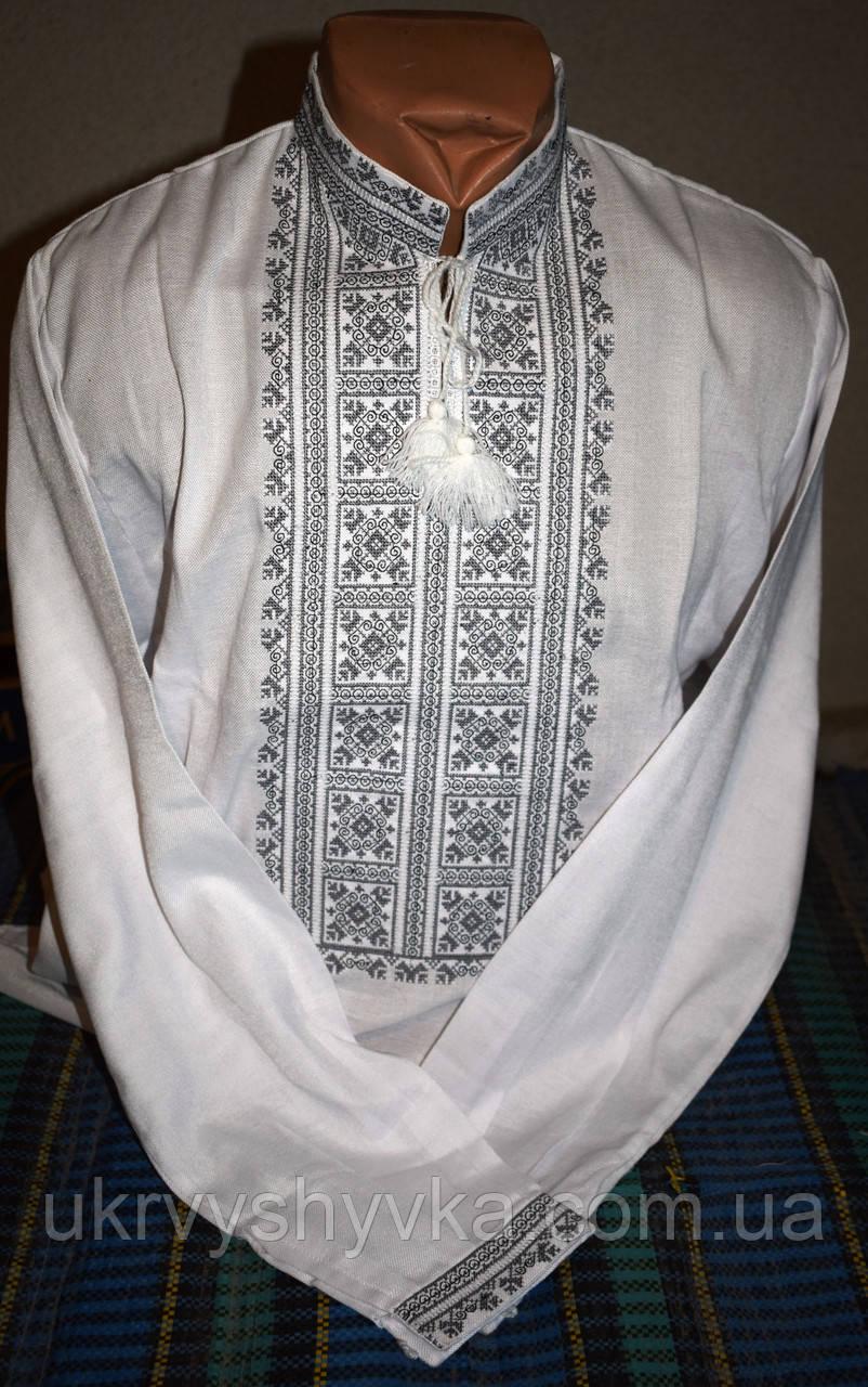 a1afdc55e6241b Вишиті чоловічі сорочки - купити чоловічі вишиванки ручного чи ...