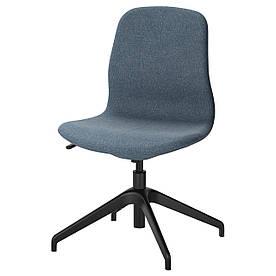 IKEA LANGFJALL (291.749.76) Комп'ютерне крісло, Гуннаред темно-сірий