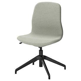 IKEA LANGFJALL (391.749.85) Комп'ютерне крісло, Гуннаред темно-сірий
