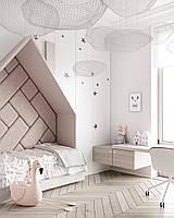 Детская комната розовая на заказ мдф Хит 2019