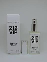Мужские духи тестер в стиле Carolina Herrera 212 VIP Men - 60 мл