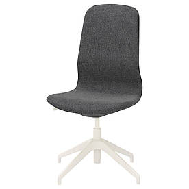 IKEA LANGFJALL (392.523.51) Компьютерное кресло, Гуннаред темно-серый