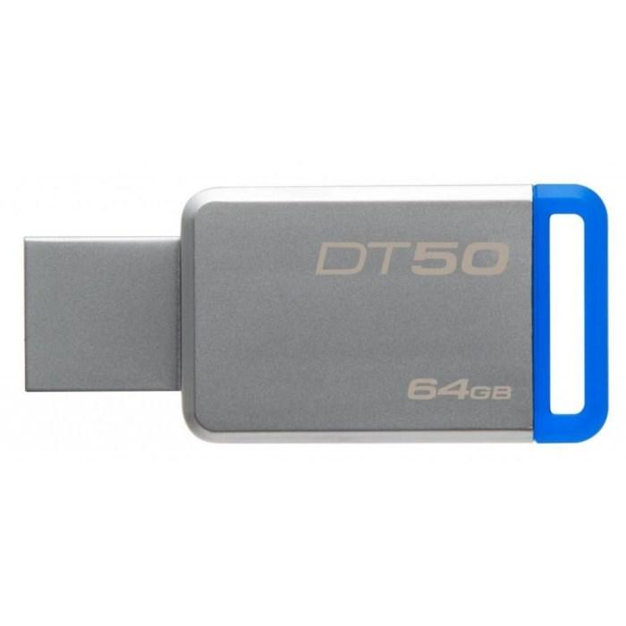 Флешка USB 3.0 64 Gb Kingston 50 Blue / DT50/64 Gb