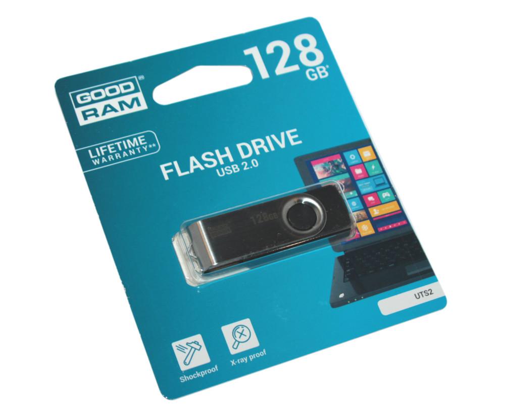 Флешка 128 Gb Goodram Twister Black / UTS2-1280K0R11