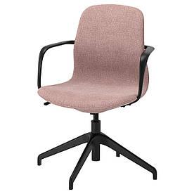 IKEA LANGFJALL (892.618.62) Комп'ютерне крісло, Gunnared світло-рожевий