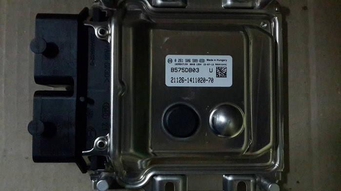 Электронный блок управления ЭБУ BOSCH 21126-1411020-70, фото 2