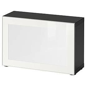 IKEA BESTA / SURTE (491.931.01) Шафа зі світлодіодним дверима, білий