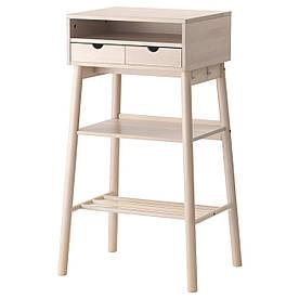 IKEA KNOTTEN (302.994.85) Стіл, біла береза